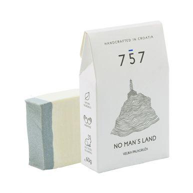 757 Natural Cosmetics No Man´s Land 60g - Přírodní ručně vyráběné mýdlo