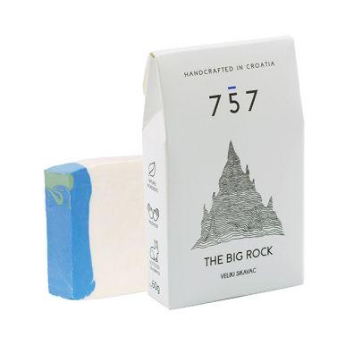 757 Natural Cosmetics The Big Rock 60g - Přírodní ručně vyráběné mýdlo