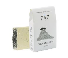 757 Natural Cosmetics The King Alminty 60g - Přírodní ručně vyráběné mýdlo