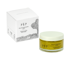 757 Natural Cosmetics Valley Down South 70g - Tělový peeling s vůní pomeranče a citronu (exp.11/20)
