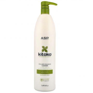 Affinage Kitoko Volume Enhance Cleanser 1000ml - Objemový šampon