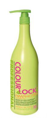 BES Colour Lock Amphoten Shampoo 1000ml - amfoterní šampon s pH 5,5 po barvení