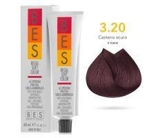 BES Přeliv Regal Soft 3.20 Dark Violet Brown 60ml - Tmavě fialová hnědá 03/21