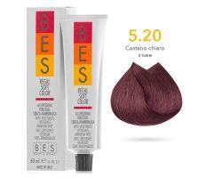BES Přeliv Regal Soft 5.20 Light Violet Brown 60ml - Světle fialová hnědá exp 03/21
