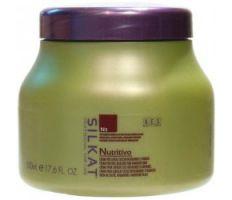 BES Silkat Nutritivo Creme N3 1000ml - Maska na poškozený vlas