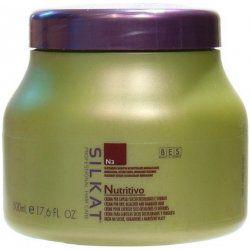 BES Silkat Nutritivo Creme 1000ml - Maska na poškozený vlas
