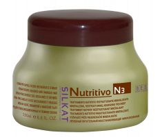 BES Silkat Nutritivo Creme N3 250ml - Maska na poškozený vlas