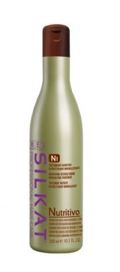 BES Silkat Nutritivo Shampoo N1 300ml - Šampon na suché a roztřepené vlasy