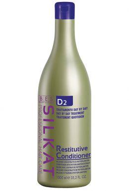 BES Silkat Restitutive Conditioner D2 1000ml - Výživný kond. s fytoplanktonem a proteiny