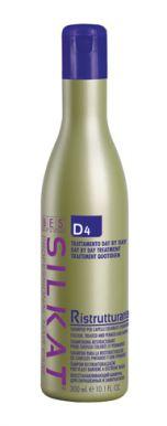 BES Silkat Ristrutturante Shampoo D4 300ml - Restrukturační šampon na barvené vlasy