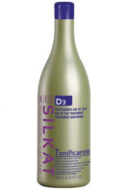 BES Silkat Tonificante Shampoo D3 1000ml - Šampon k regeneraci narušených suchých vlasů