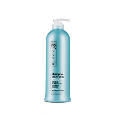 Black Shampoo Anticrespo 500ml - Šampon pro kudrnaté,nepoddajné vlasy