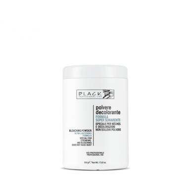 Black Bleaching Powder 500g - Odbarvovací a melírovací prášek bezprašný