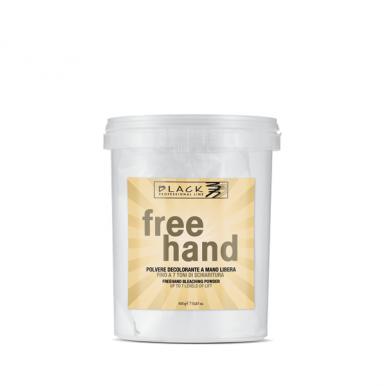 Black Free Hand Bleaching Powder 450g - Melírovací prášek
