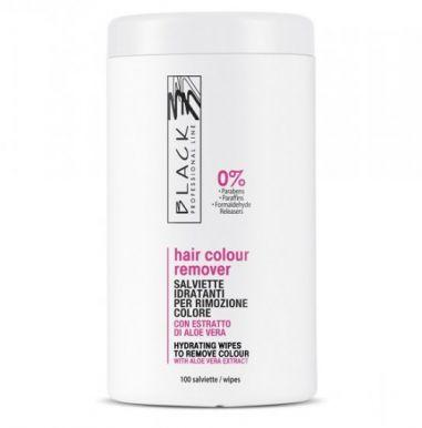 Black Hair Color Remover 100 kusů - Čistící ubrousky