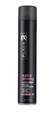 Black Lacca Extra Strong Spray 750ml - Lak na vlasy