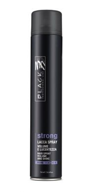 Black Lacca Strong Hair Spray 750ml - Lak na vlasy silně tužící