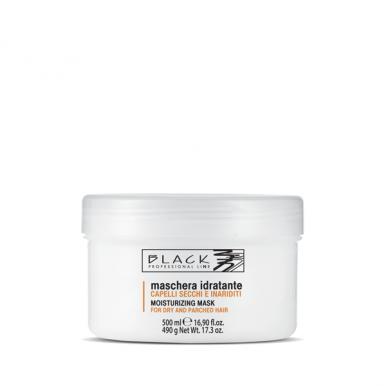 Black Moisturizing Mask 500ml - Hydratační maska pro suchý a poškozený vlas