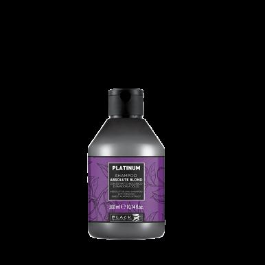 Black Platinum Absolute Blond Shampoo 300ml -  Šampon s extraktem s organických mandlí