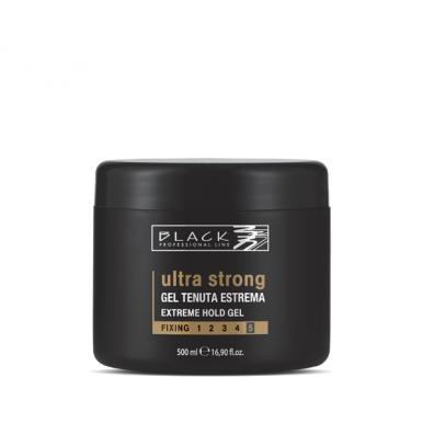 Black Ultra Strong Gel 500ml