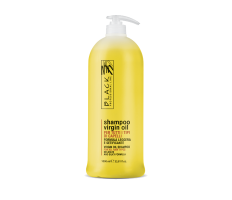 Black Virgin Oil Shampoo 1000ml - Jemný hydratační olejový šampon