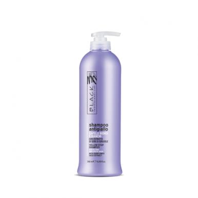 Black Yellow Stop 500ml - Šampon pro šedivé a melírované vlasy