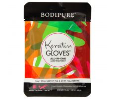 Bodipure keratinové rukavice - Sada s pilníkem