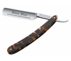 """Böker Silver Steel Schildpatt 6/8"""" - Břitva na holení"""
