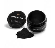 Coco Glam 30g - BIO přírodní prášek pro bělení zubů s aktivním uhlím
