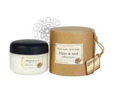 Cosmetica Bohemica - Tělový peeling Mléko a med 180g