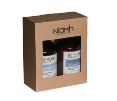 Dárkový balíček - Niamh Be Pure Detox šampon 500ml + Detox maska 500ml