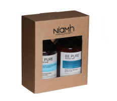 Dárkový balíček - Niamh Be Pure Gentle šampon 500ml + Gentle maska 500ml