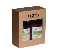 Dárkový balíček - Niamh Be Pure Nourishing šampon 500ml + Nourishing maska 500ml