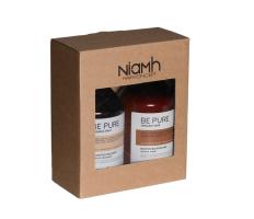 Dárkový balíček - Niamh Be Pure Restore šampon 500ml + Restore maska 500ml
