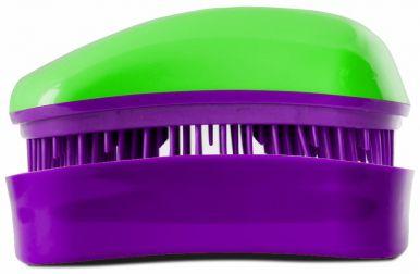 Dessata Mini Green - Purple - Profesionální kartáč na vlasy