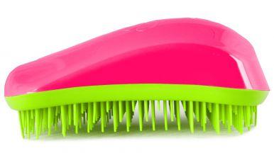 Dessata Original Fuchsia - Lime - Profesionální kartáč na vlasy
