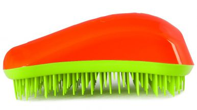 Dessata Original Orange - Lime - Profesionální kartáč na vlasy