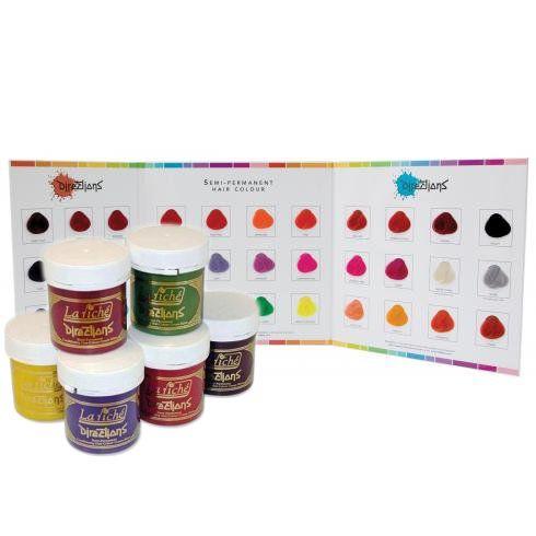 Directions Barva 89ml - Polopermanentní barvící krém na vlasy Directions barva: Lavender