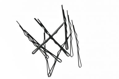 Duko vlasová sponka 526B černá - 10ks