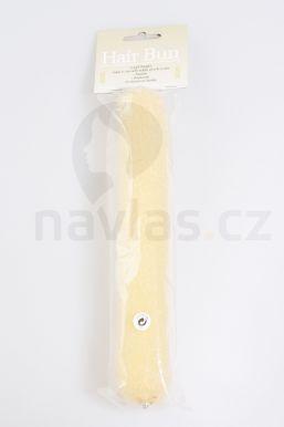 Duko vycpávka do vlasů podlouhlá,23cm s drukem 5102 světlá