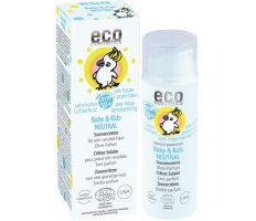 Eco Cosmetics Baby & Kids Sun Cream Neutral SPF 50+ 50ml - Dětský opalovací krém BIO