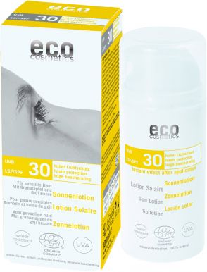 Eco Cosmetics Sun Cream Neutral SPF 30 100ml - Opalovací krém bez parfemace
