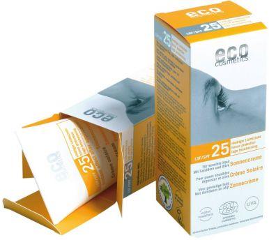 Eco Cosmetics Sun Cream SPF 25 75ml - Opalovací krém SPF 25BIO