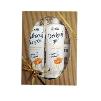 Farma Koza - Dárkový balíček (šampon + sprchový gel)