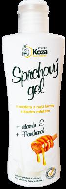 Farma Koza - Sprchový gel s medem a kozím mlékem 200ml
