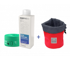Framesi_Duo Set 413 - Matt Me Clay 80ml + Reinforcing šampon 250ml
