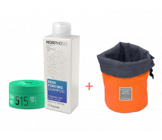 Framesi_Duo Set 515 - Matt Me Strongly Paste 80ml + Reinforcing šampon 250ml