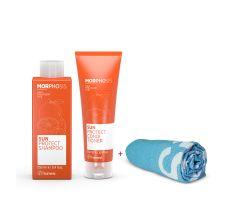 Framesi Morphosis Letní Set - Šampon 250ml + kondiconér 250 ml + osuška