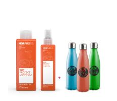 Framesi Morphosis Letní Set - Šampon 250ml + leave-in 150 ml + termolahev
