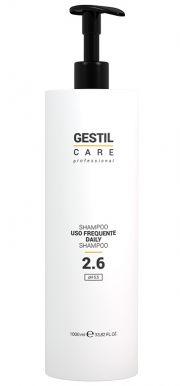 Gestil Care 2.6 Daily Shampoo 1000ml - Šampon na časté použití